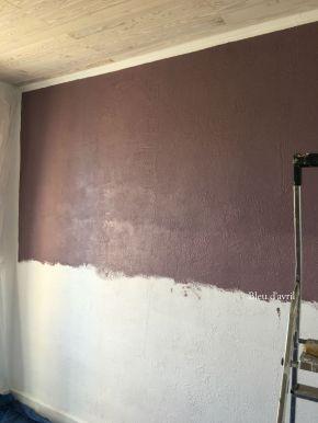 mur pourpre chambre
