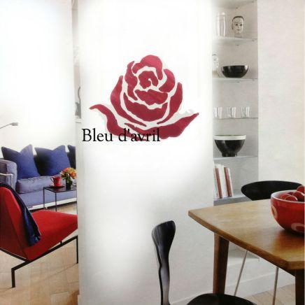salle à manger rose