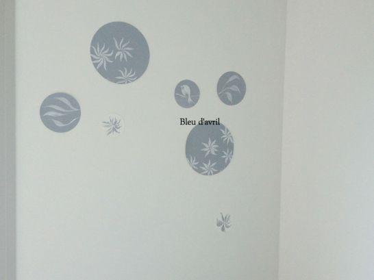 stickers bleus